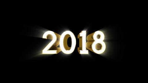Year 2018 a HD CG動画