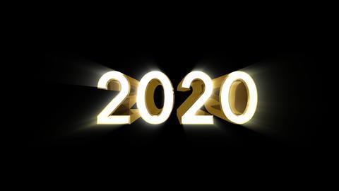 Year 2020 a HD CG動画