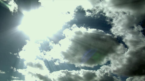 war clouds time lapse Stock Video Footage