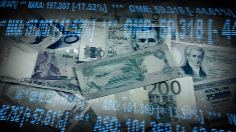 stock money montage clean Stock Video Footage