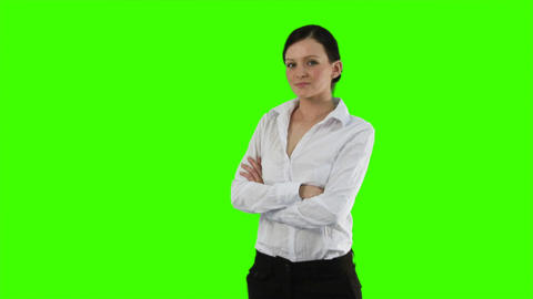Happy Business person Stock Video Footage