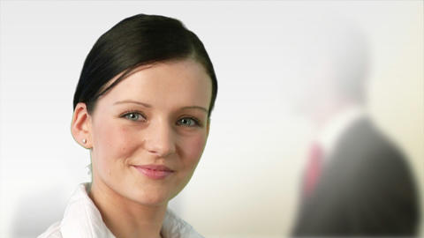 Business woman at work Stock Video Footage