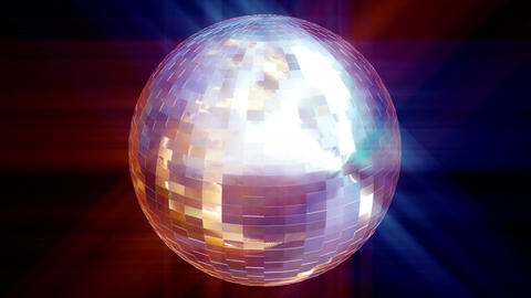3d Animation Disco Ball Animation