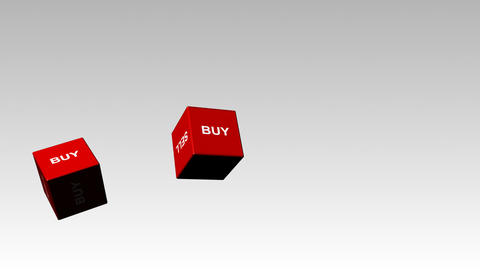 Buy and Sell Dice Footage