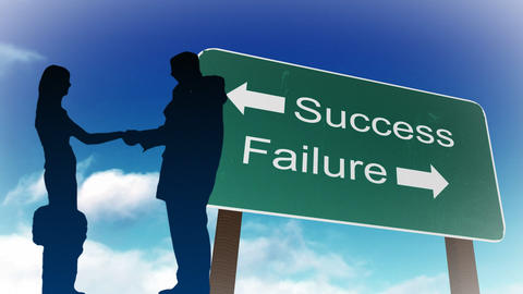 Success and Failure sign Animation