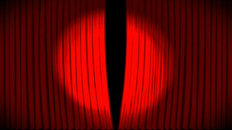 Animated 3d Curtains 2 Animation