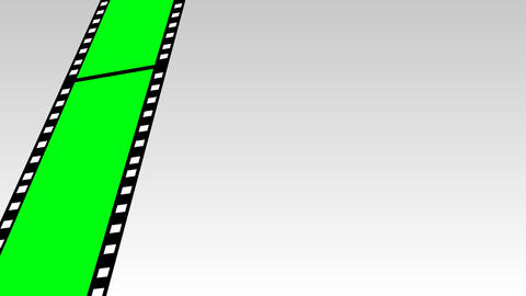 Moving Film Strip Footage