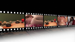 Spa Relaxation HD footage montage Animation