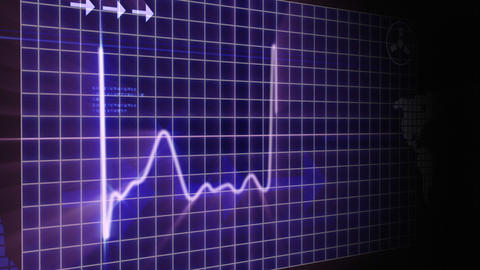 World Heartbeat Concept stock footage