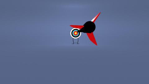 Hitting the target Animation