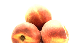 Pyramid of peaches Stock Video Footage