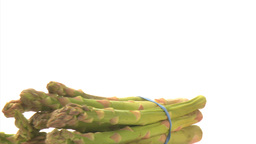 Bunch asparagus Footage