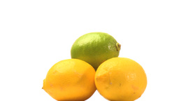 Pyramid of citrons Stock Video Footage