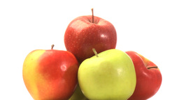Pyramid of apples Footage
