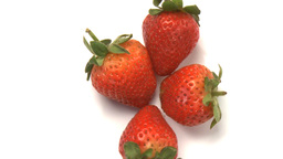 cluster of strawberries 3 Live Action