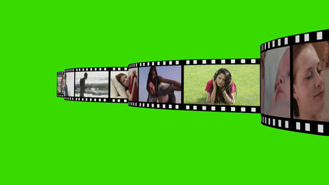 Montage of Lifestyle Footage Stock Video Footage