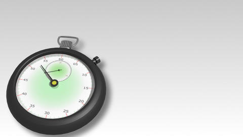 3d Watch moving Stock Video Footage