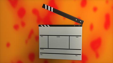 Clapper Board Stock Video Footage