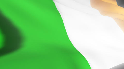 Irish Flag Animation