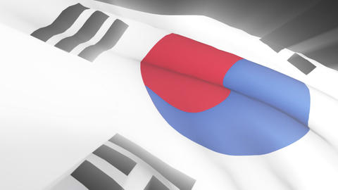 South Korean Flag Animation