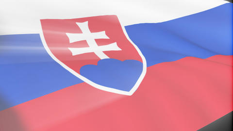 Slovak Flag Animation