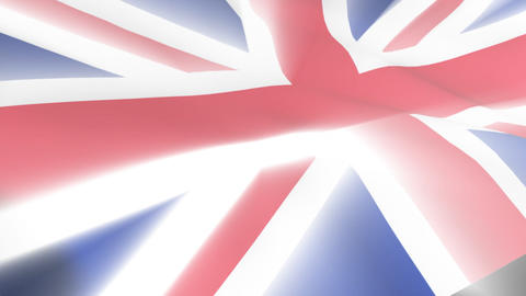 United Kingdom Flag Animation