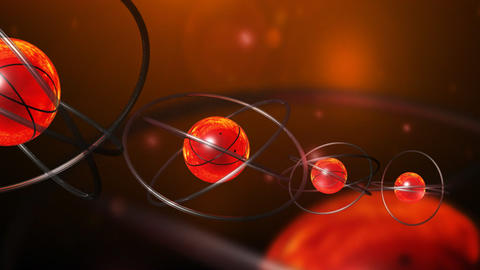 Atoms and neutrons Animation