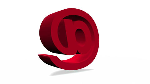 3D email icon Animation