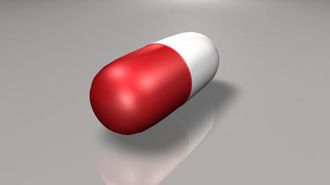 Animated Pill stock footage