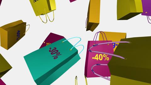 Discount sale Concept Animation Footage