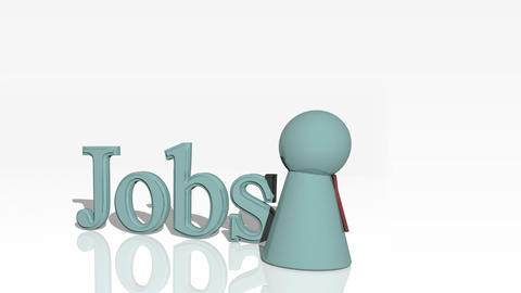 Jobs 3d advertisement Animation