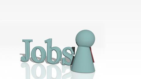 Jobs 3d advertisement Animation