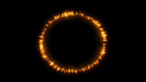 3d Fire Ring Animation