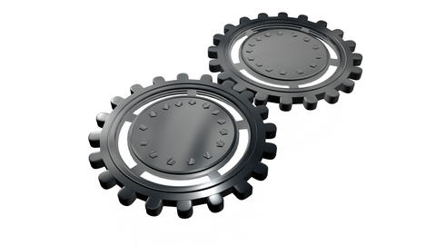Gears and cogs animation 1 Animation