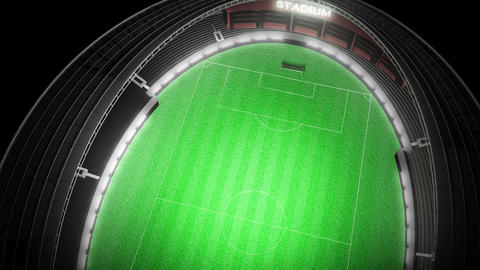 Football Stadium Animation