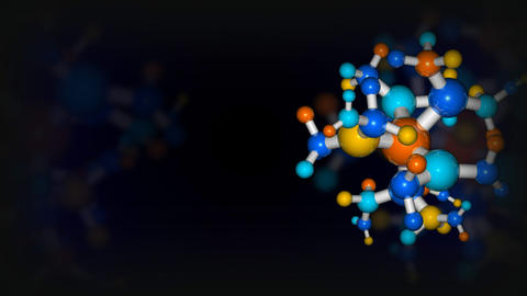Colorful DNA in motion Stock Video Footage