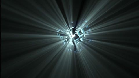 Animation of an abstract spotlight in motion giving light Animation