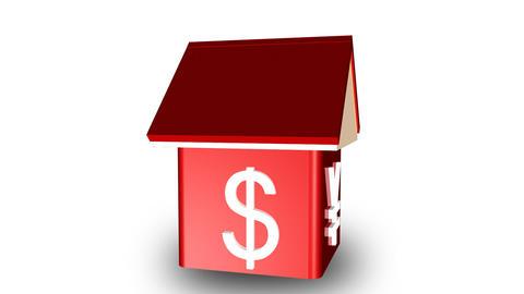 Worldwide property market Animation