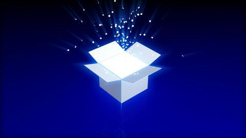 Magic box Animation