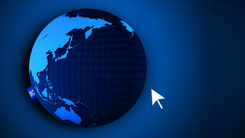 3d Animated Globe Stock Video Footage