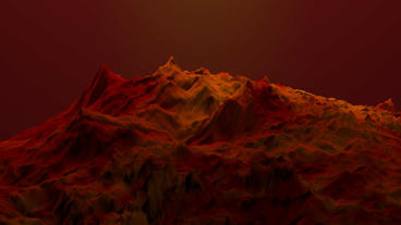 4k Red liquid ocean sea water lava magma,red mountain orogeny&volcanic activ Footage