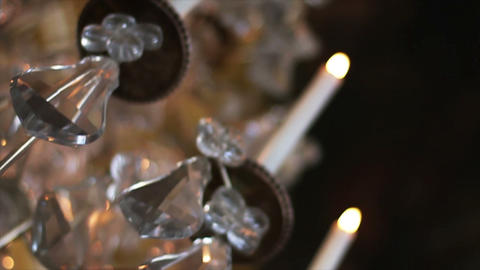 1552 Chandeliers Stock Video Footage