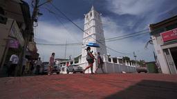 Melaka, Kampung Kling Mosque, Malaysia stock footage