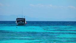 Boat in Ocean Footage