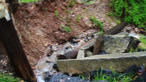 1470 Old Bridge Destroyed Flood Stage White Water Footage
