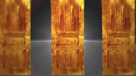 Many Doors Which One Will You Choose, HD Stock Video Footage