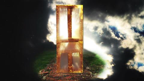 Door of Light to Heaven, HD Footage