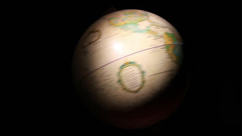 1305 Artistic Globe , All Over the World Footage