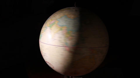 1319 Artistic Globe , All Over the World Stock Video Footage