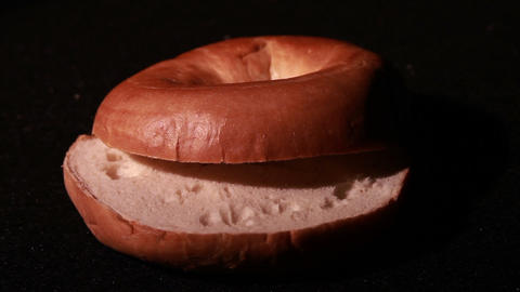 1351 Bagel stock footage